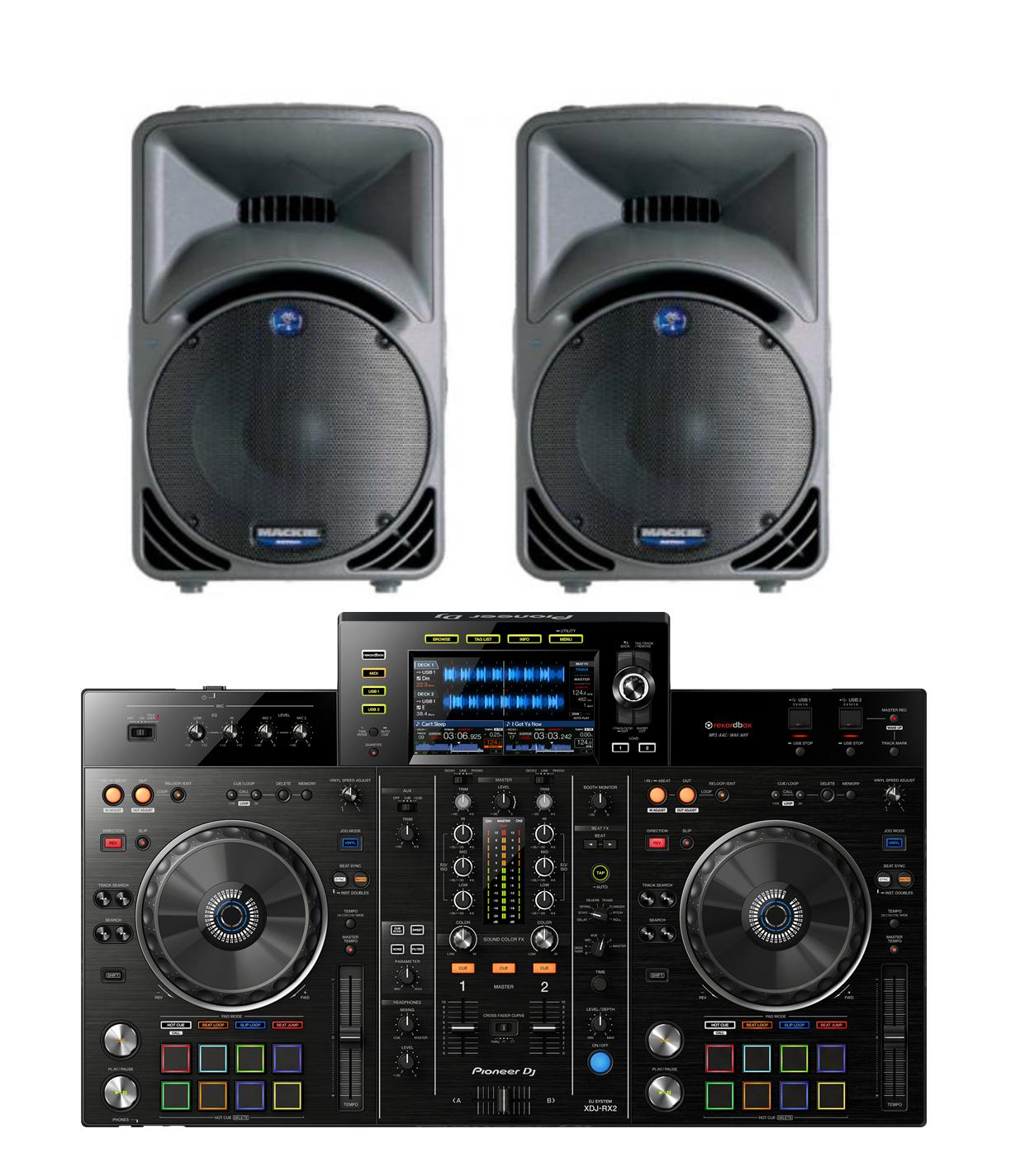 Pioneer XDJ-RX2 & SRM450 Package